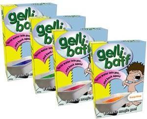 Jello bath